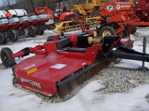 122: Bush Hog 3210 10' Mower for tractor Like New