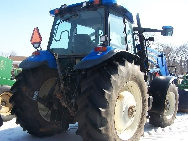 129: New Holland TM 140 Tractor w/ Loader Nice - 2