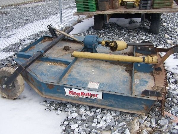 31: King Kutter 6' Mower For Tractor