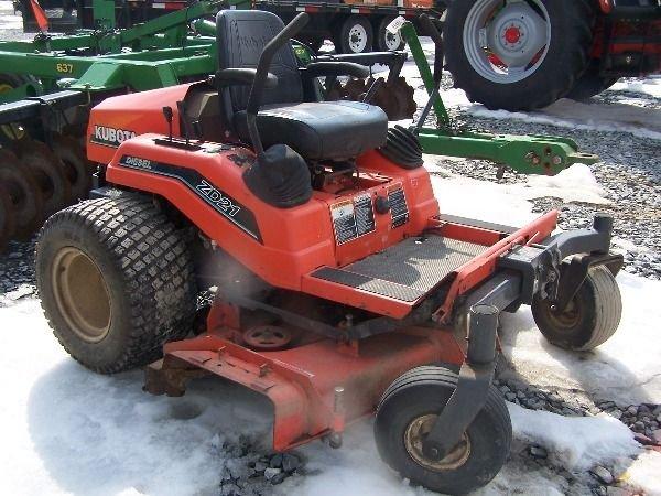 185: Kubota ZD 21 Zero Turn Mower Tractor
