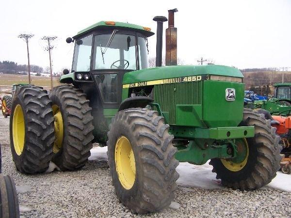 217: John Deere 4650 4x4 Tractor w/ Duals
