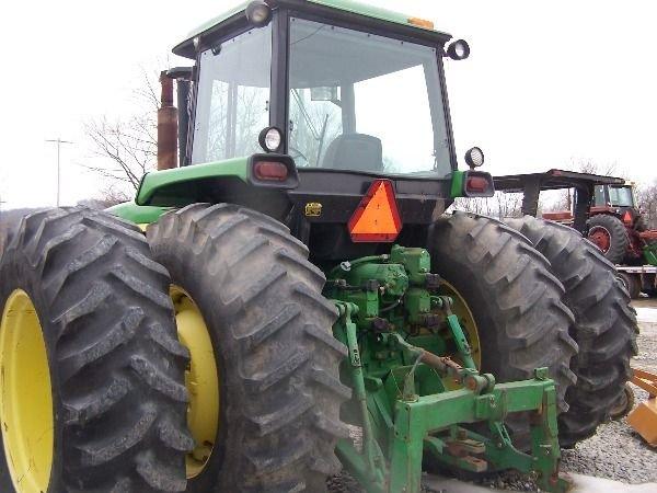 217: John Deere 4650 4x4 Tractor w/ Duals - 5