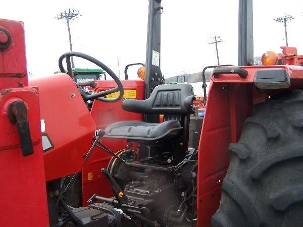 227: Nice Massey Ferguson 283 4x4 Farm Tractor w/ Loade - 5