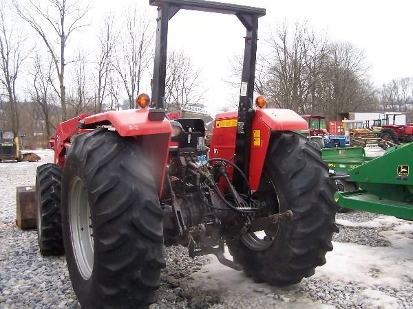 227: Nice Massey Ferguson 283 4x4 Farm Tractor w/ Loade - 6