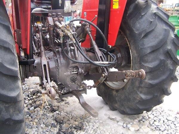 227: Nice Massey Ferguson 283 4x4 Farm Tractor w/ Loade - 7
