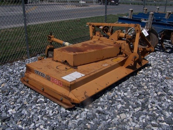 533: Nice Woods D80 Offset Pull Type Mower for Tractors