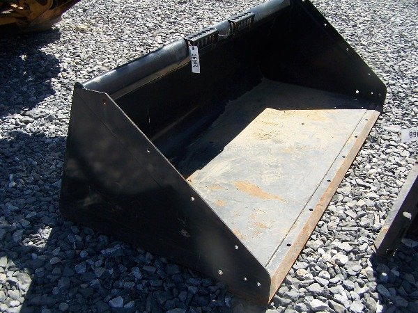 "593: Like New Bobcat 80"" Snow Bucket for Skid Steer Lo"