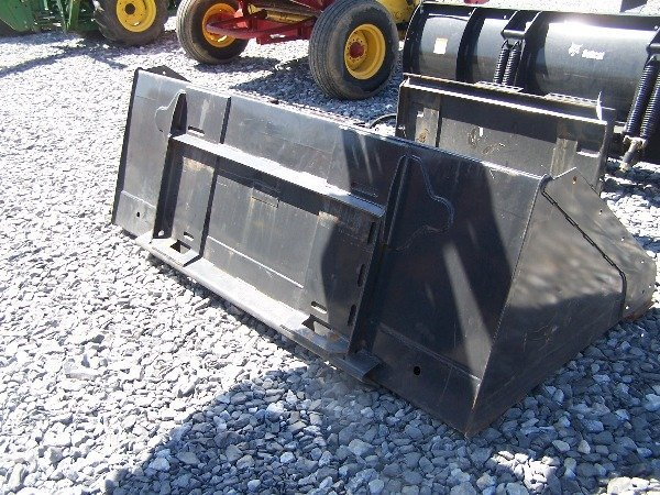 "593: Like New Bobcat 80"" Snow Bucket for Skid Steer Lo - 2"