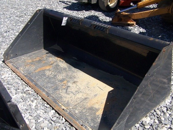 "593: Like New Bobcat 80"" Snow Bucket for Skid Steer Lo - 4"