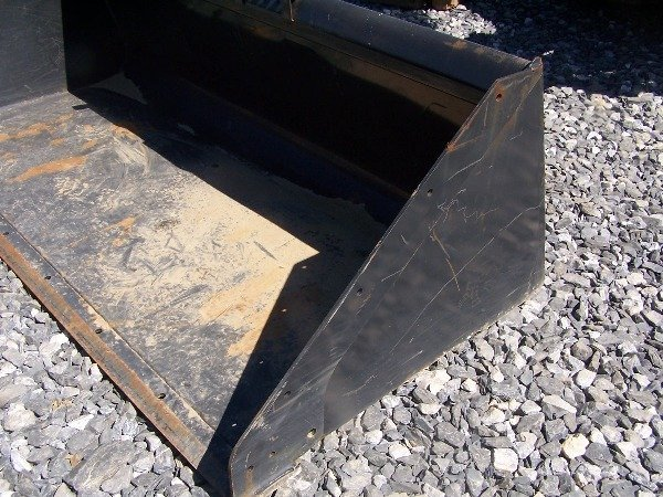 "593: Like New Bobcat 80"" Snow Bucket for Skid Steer Lo - 5"