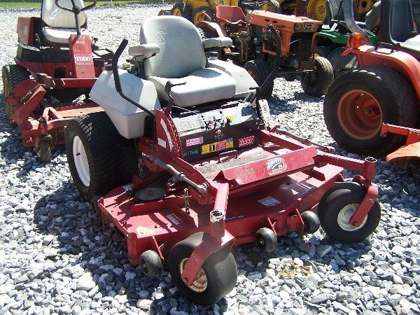 "553: Exmark Commercial 60 Zero Turn Tractor w/ 60"" Dec"