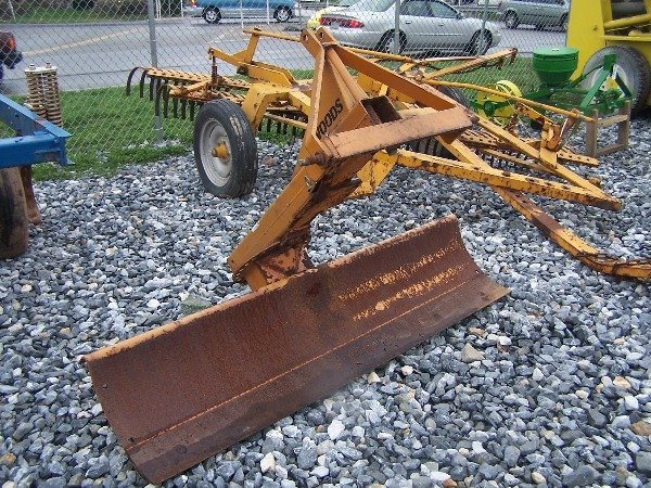 536: Nice Woods RB600 3pt Blade For Compact Tractors!!