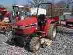 688: Case International 1140 Compact Tractor w/ Woods M
