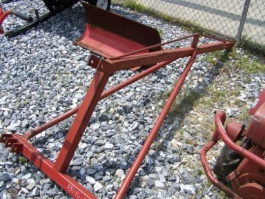 1: 3pt Hitch Boom Pole For Tractor