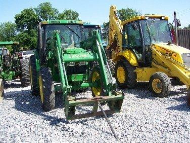 133: John Deere 6410 4x4 Farm Tractor w/ Cab + Loader!