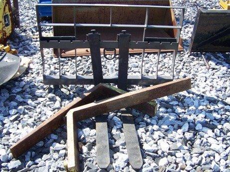 4: New Unused Bradco Skid Steer or Tractor Pallet Forks