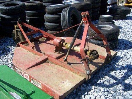 8: Big-B 3pt 5ft Rough Cut Mower for Tractors!