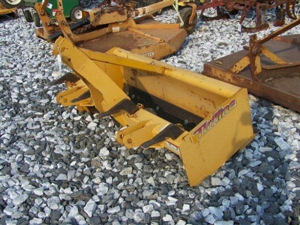 11: New Unused Tufline 3pt 4ft Box Blade for Tractors!