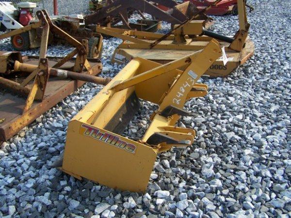 11: New Unused Tufline 3pt 4ft Box Blade for Tractors! - 3