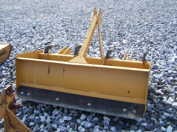 11: New Unused Tufline 3pt 4ft Box Blade for Tractors! - 4