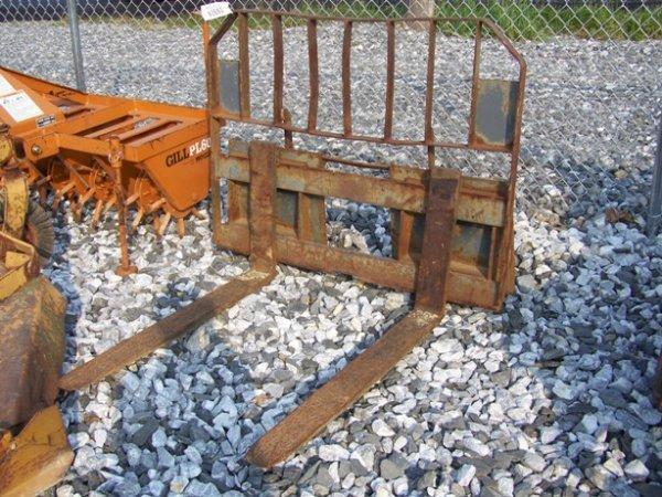 12: Used Case Skid Steer Loader Forks!