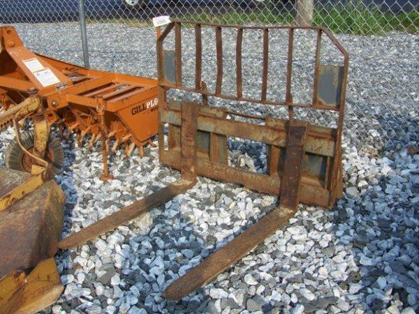 12: Used Case Skid Steer Loader Forks! - 5