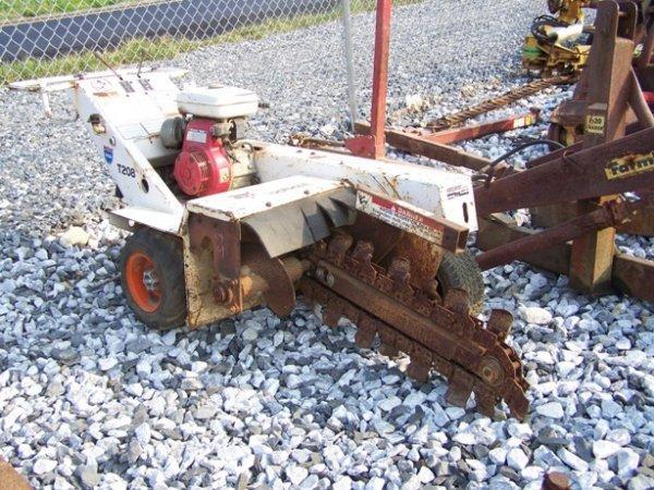 "13: Bobcat T208 Walk Behind Trencher ""Fixer Upper""!"