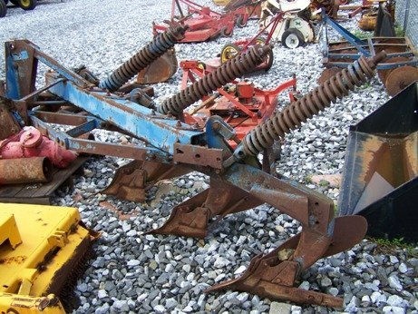 15: Original Ford 3 Bottom Spring Trip Plow for Tractor