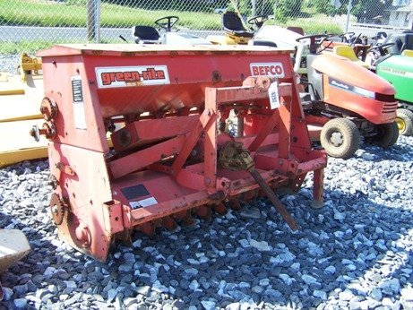 21: Befco Green Rite 3pt Power Seeder for Tractors.