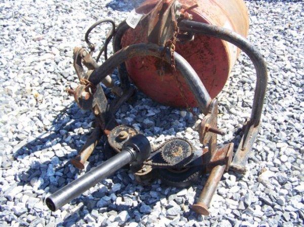 70: Wikomi 3pt Concrete Mixer for Tractor - 2