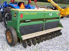 "132: John Deere 1500 8' 3pt Power Seeder Drill, 8"" Sp"