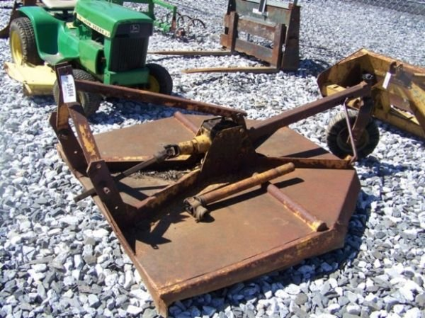 "7: 60"" Woods 3pt Mount Rotary Mower For Tractors"