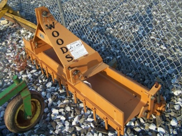 26: Woods Gill 3pt 6' Pulverizer for Tractors - 2