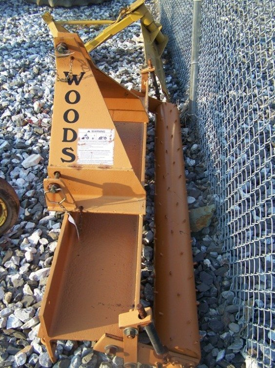 26: Woods Gill 3pt 6' Pulverizer for Tractors - 3
