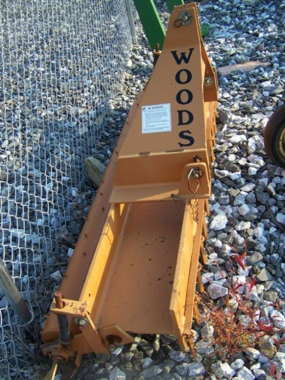 26: Woods Gill 3pt 6' Pulverizer for Tractors - 4