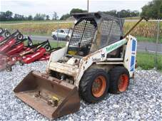 59: Bobcat 743B Skid Steer Loader w/ Bad Engine