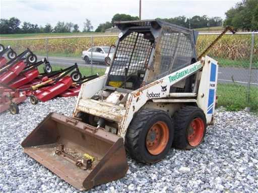 59 Bobcat 743b Skid Steer Loader W Bad Engine