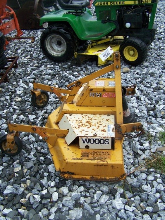 11: Woods RM400 3pt 4' Finish Mower for Tractors - 2