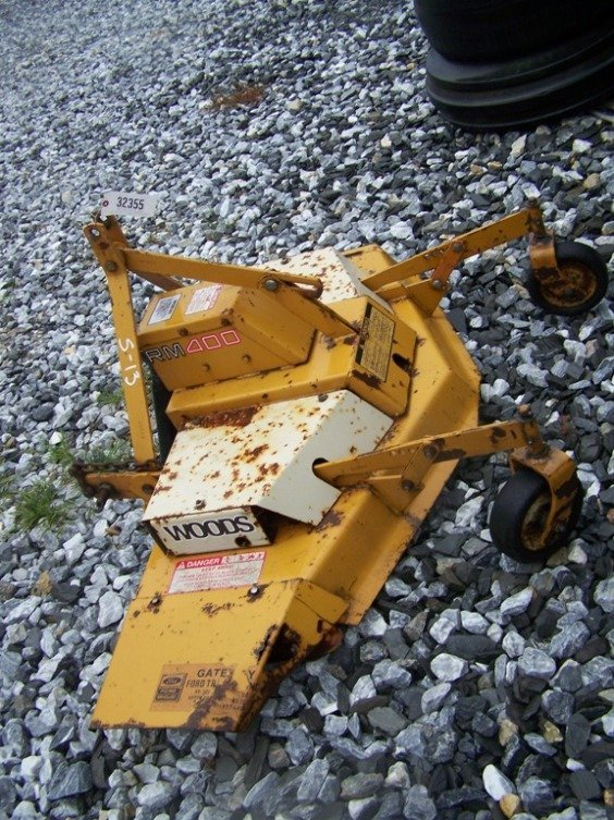 11: Woods RM400 3pt 4' Finish Mower for Tractors - 3