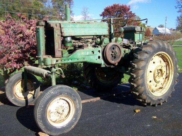 500: John Deere A Hi Crop, All Fuel Tractor Ser # 66957