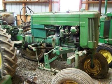 501: John Deere 420 Hi Crop Tractor Ser # 128311