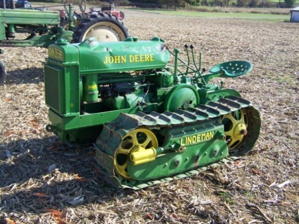 510: John Deere BO Lindeman Crawler tractor Restored