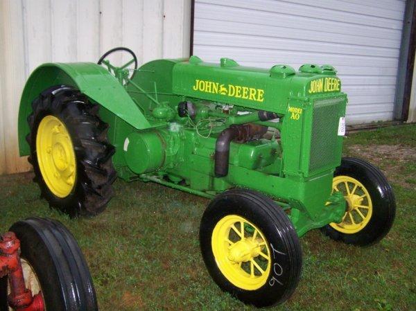 511: John Deere Unstlyed AO Tractor Restored
