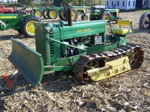 517: John Deere MC Tractor Serial #10837
