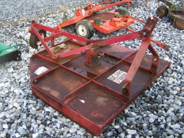 """4: Tractor Supply 60"""" 3pt Rotary Mower For Tractors"""