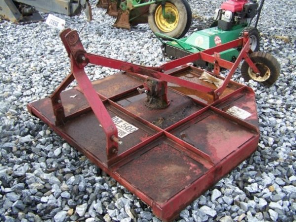 """4: Tractor Supply 60"""" 3pt Rotary Mower For Tractors - 2"""