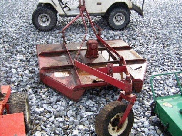 """4: Tractor Supply 60"""" 3pt Rotary Mower For Tractors - 3"""