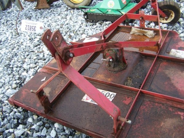 """4: Tractor Supply 60"""" 3pt Rotary Mower For Tractors - 4"""