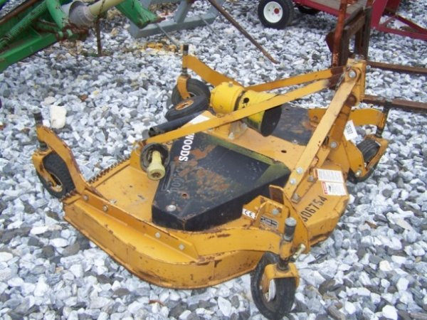 """24: Woods RD6000 3pt 60"""" Finish Mower for Tractors"""