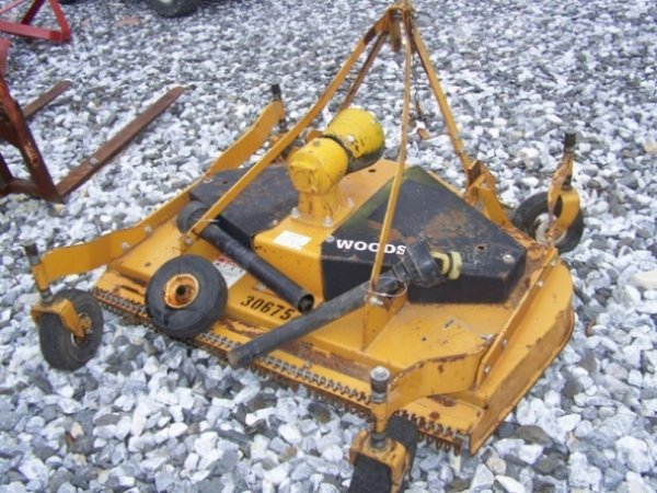 "24: Woods RD6000 3pt 60"" Finish Mower for Tractors - 3"